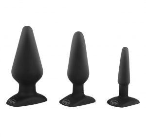 Plugs til mænd - sexlegetøj som buttplug og analplugs fra Malesation til kræsne mænd